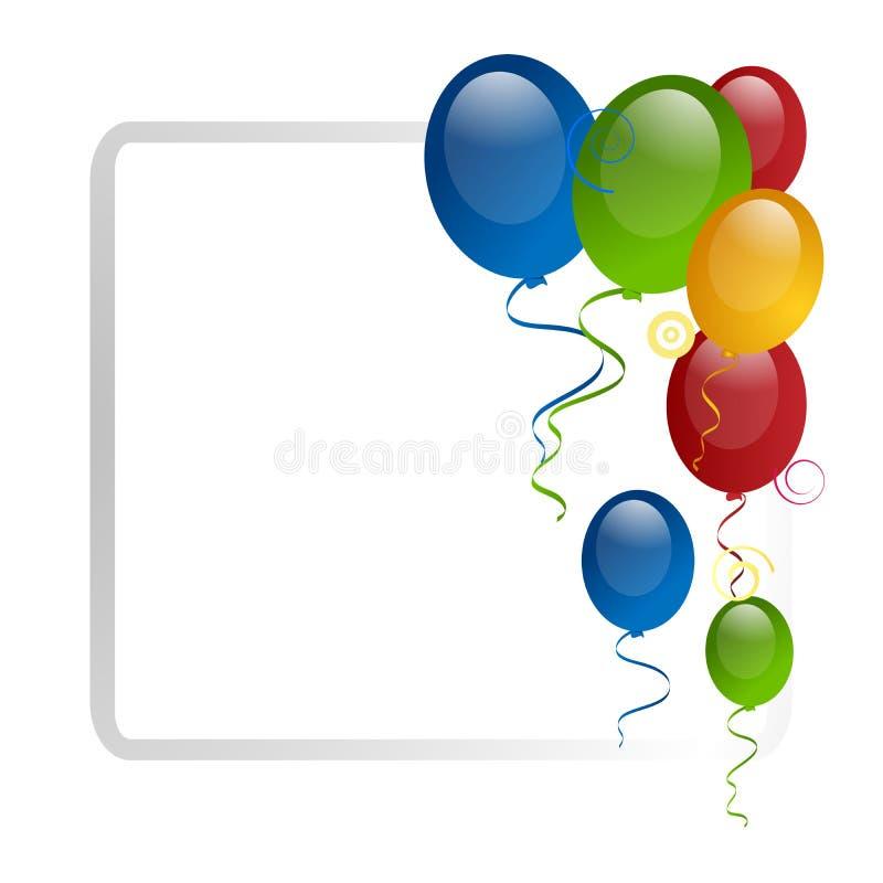 Ballon-Rand stock abbildung