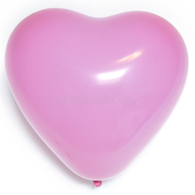 ballon rose en forme de coeur photo stock image du form r ception 51028432. Black Bedroom Furniture Sets. Home Design Ideas