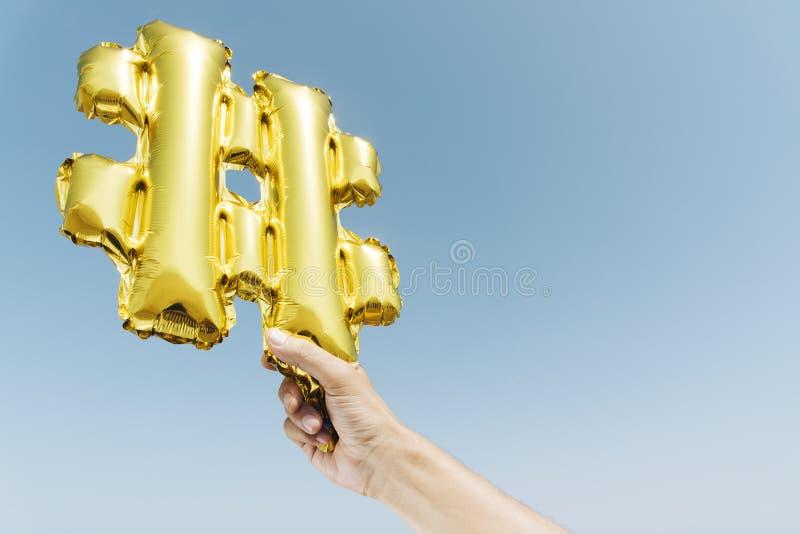 Ballon sous forme de symbole de gâchis photo libre de droits