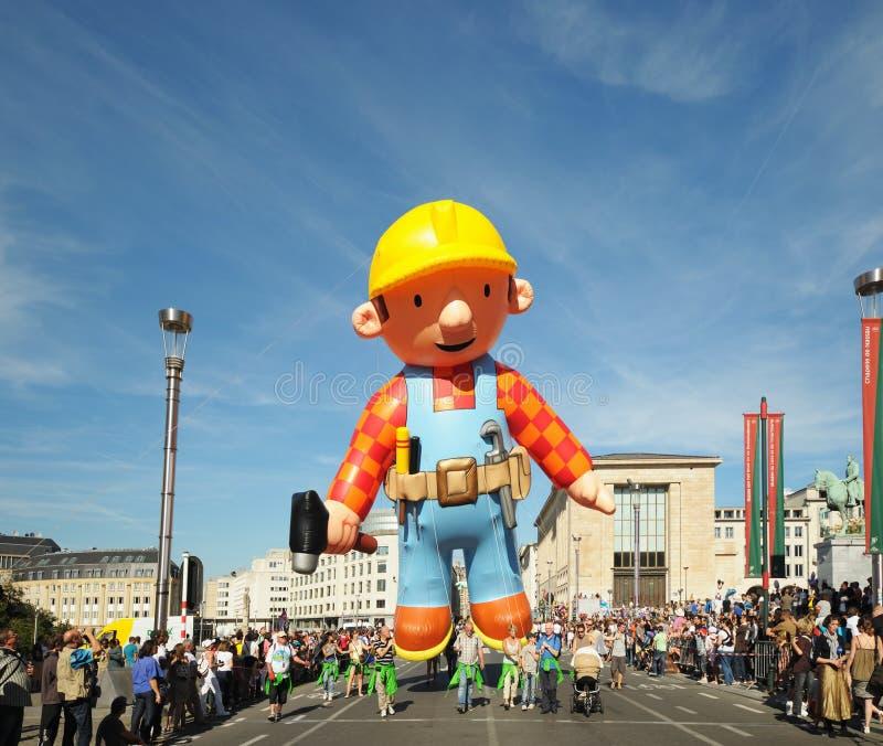 Ballon-Tagesparade lizenzfreie stockfotografie