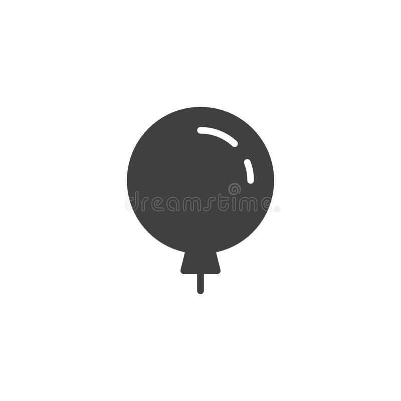 Ballon vectorpictogram vector illustratie