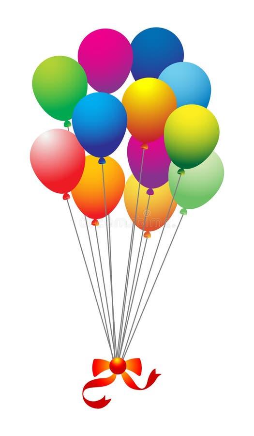 Ballone lizenzfreie abbildung