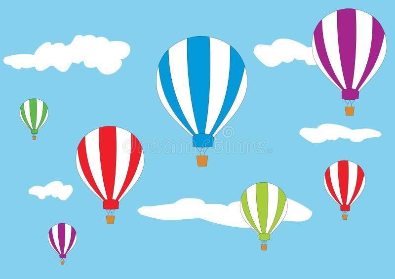 Ballone vektor abbildung