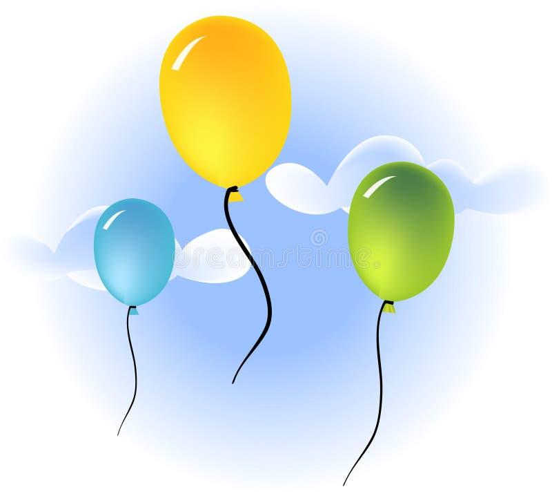 Ballone stock abbildung
