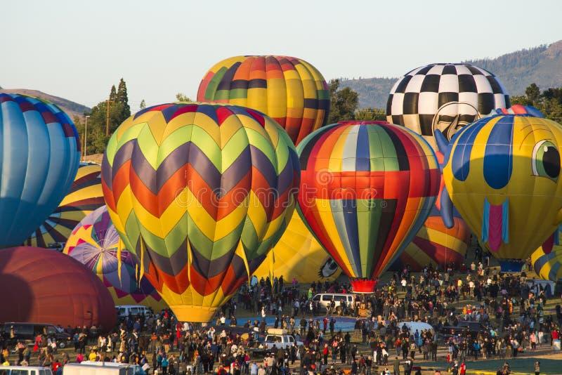 Ballone schließen oben lizenzfreies stockfoto