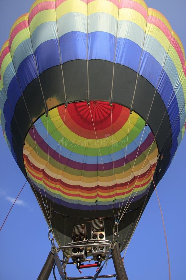 Ballonfestival stockbilder