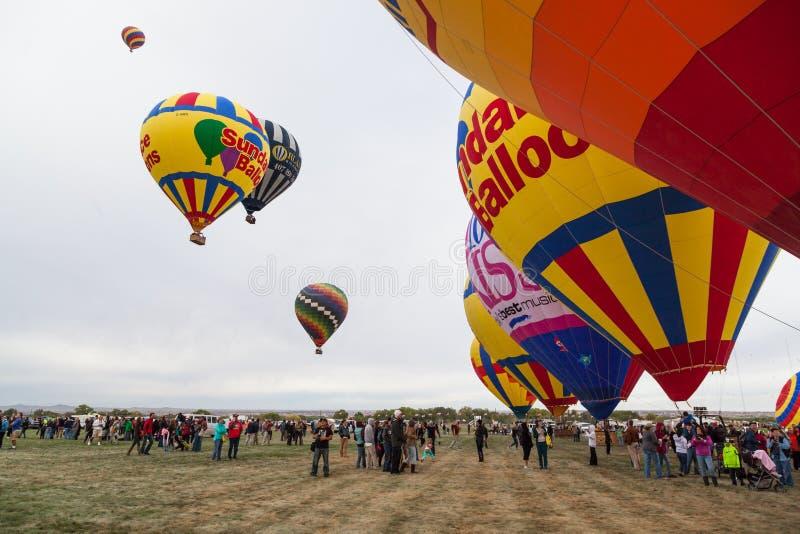Ballonfiesta 2014 stock foto's
