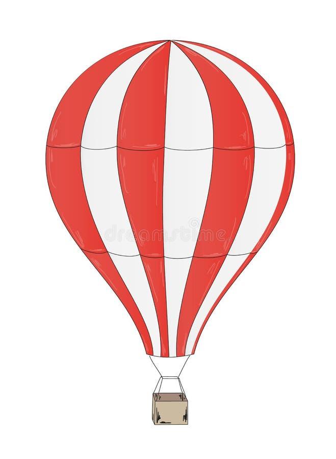 Ballong vektor illustrationer