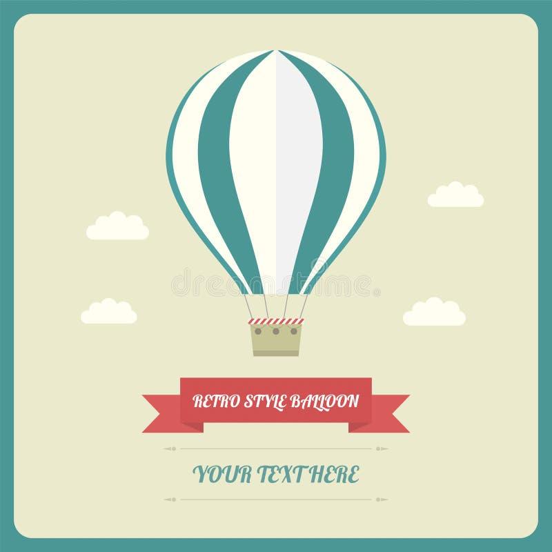 Ballong royaltyfri illustrationer