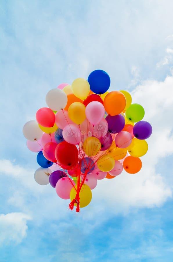 Ballong för barn arkivfoto