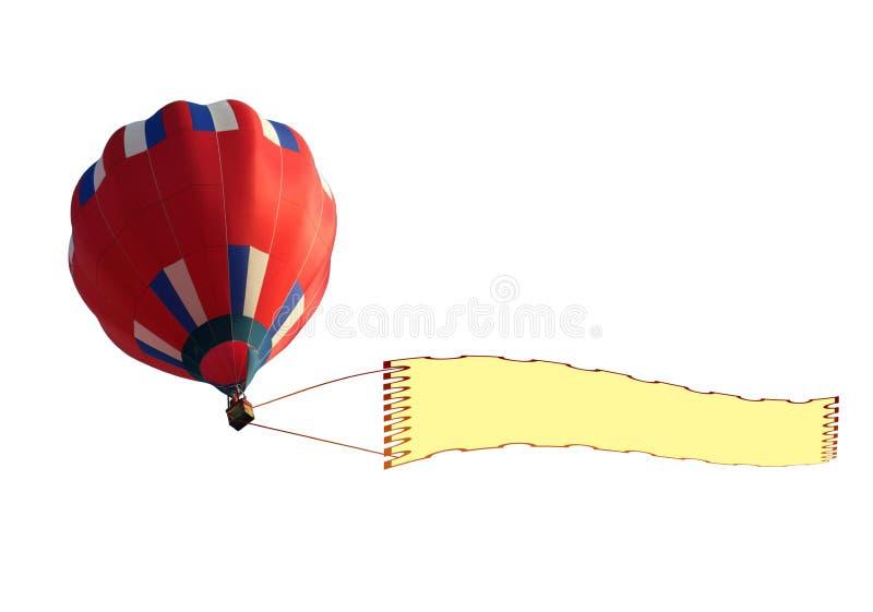 ballongbanermellanrum vektor illustrationer