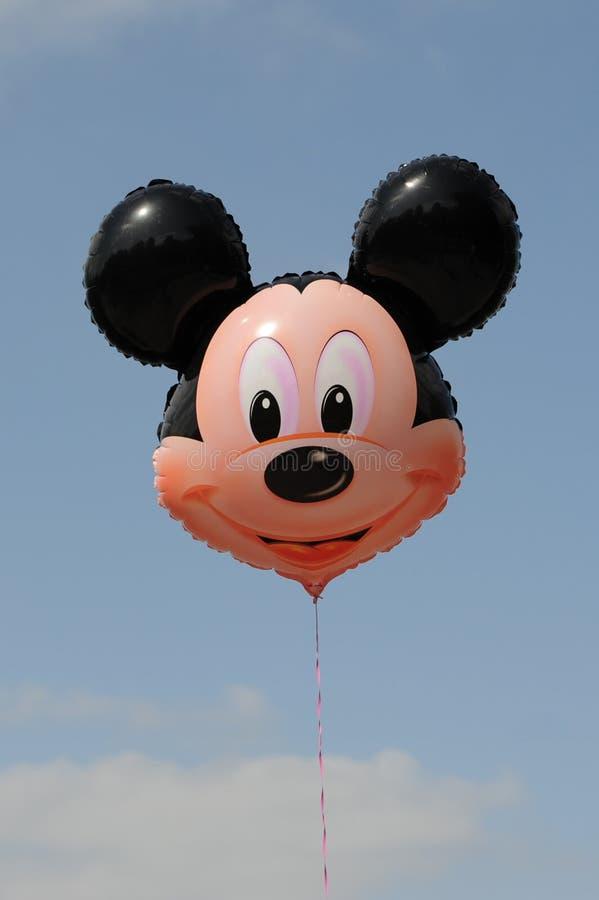 Ballongen av Mickey Mouse arkivfoton