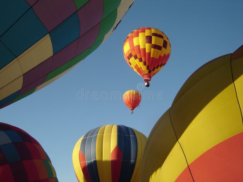 ballonger överallt arkivfoton