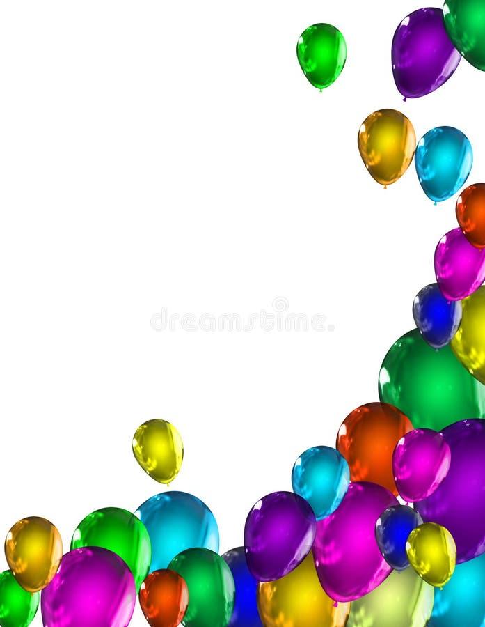ballonger royaltyfri illustrationer