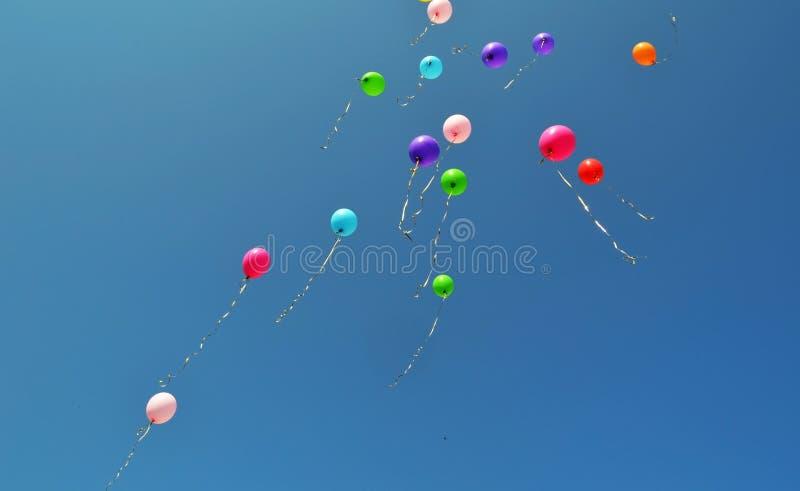 Ballonger ferie arkivbilder