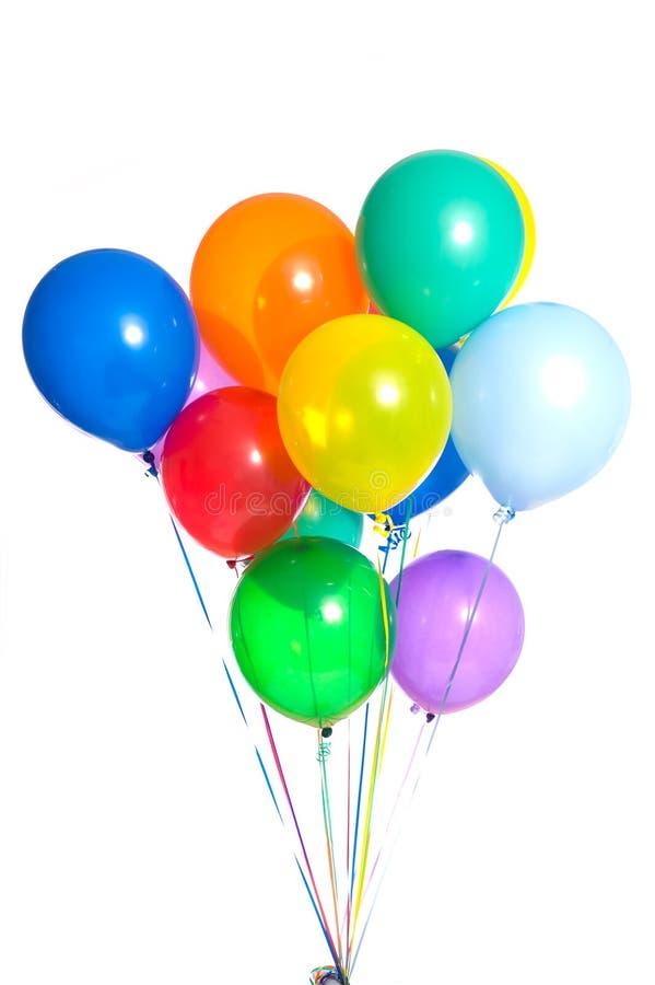 ballonger party white royaltyfria foton