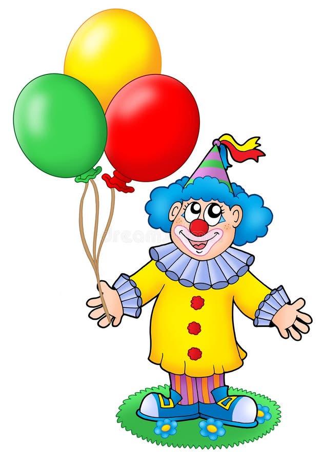 ballonger spexar gulligt stock illustrationer