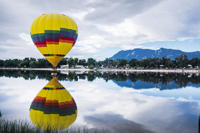 Ballongfestival arkivfoton