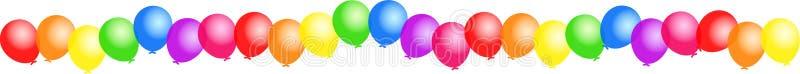 ballongkant vektor illustrationer