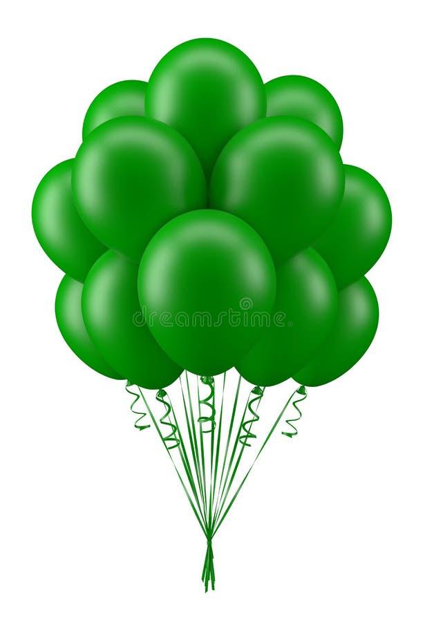 Ballongrün lizenzfreies stockbild