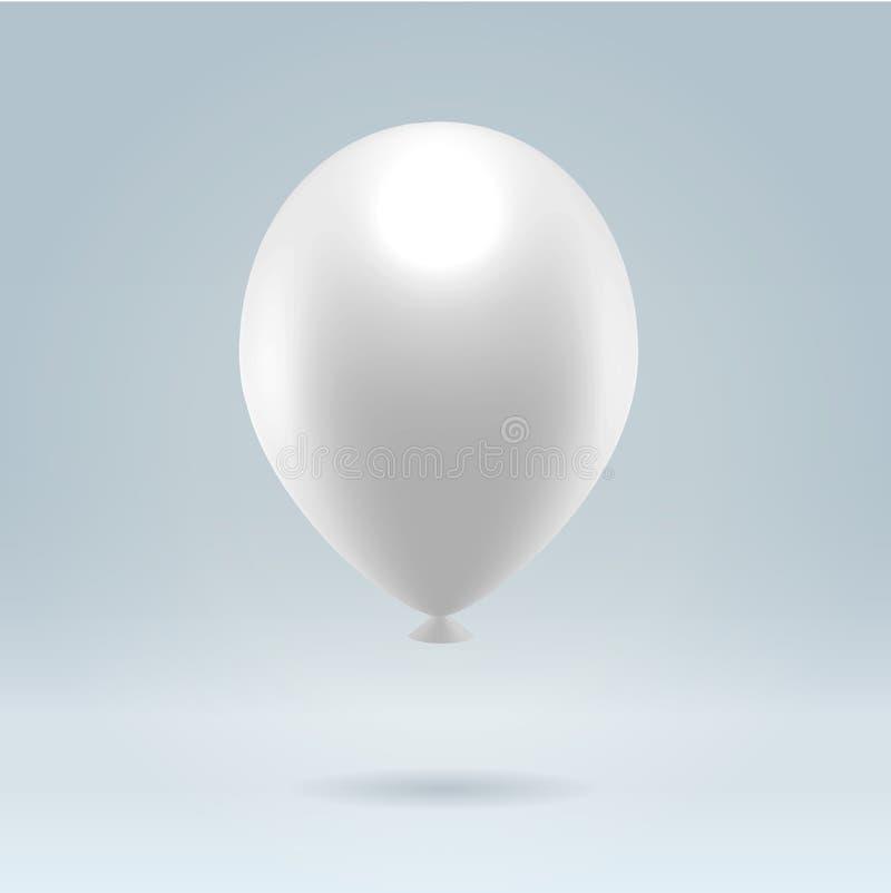 ballongwhite stock illustrationer