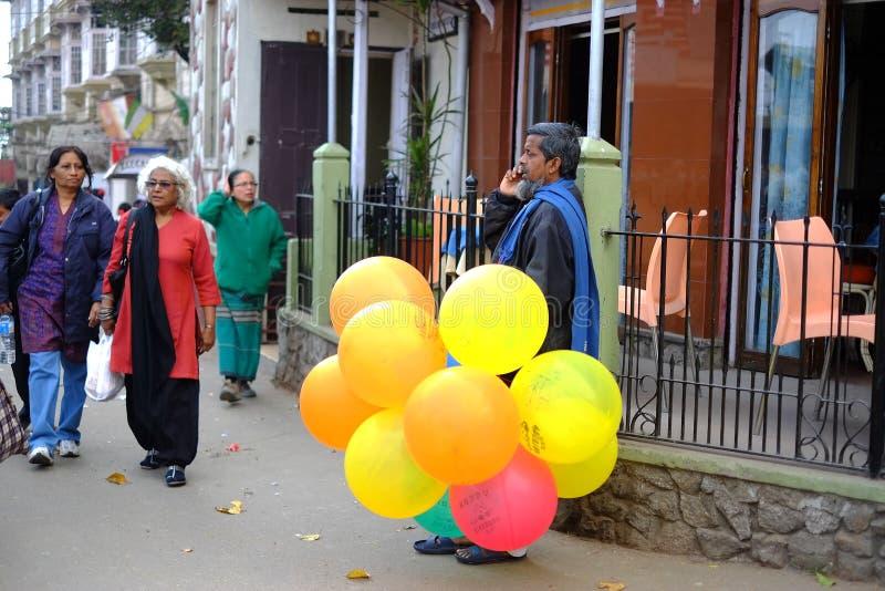 Ballonmens royalty-vrije stock foto's