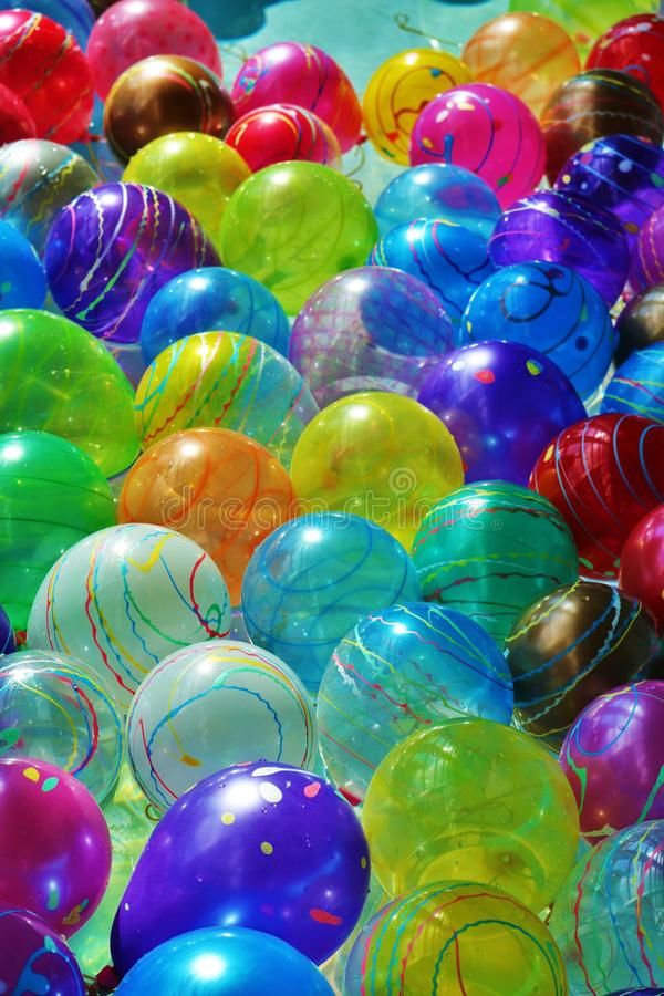 Ballonpartij royalty-vrije stock foto's