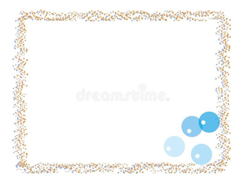 Ballonrand stock abbildung