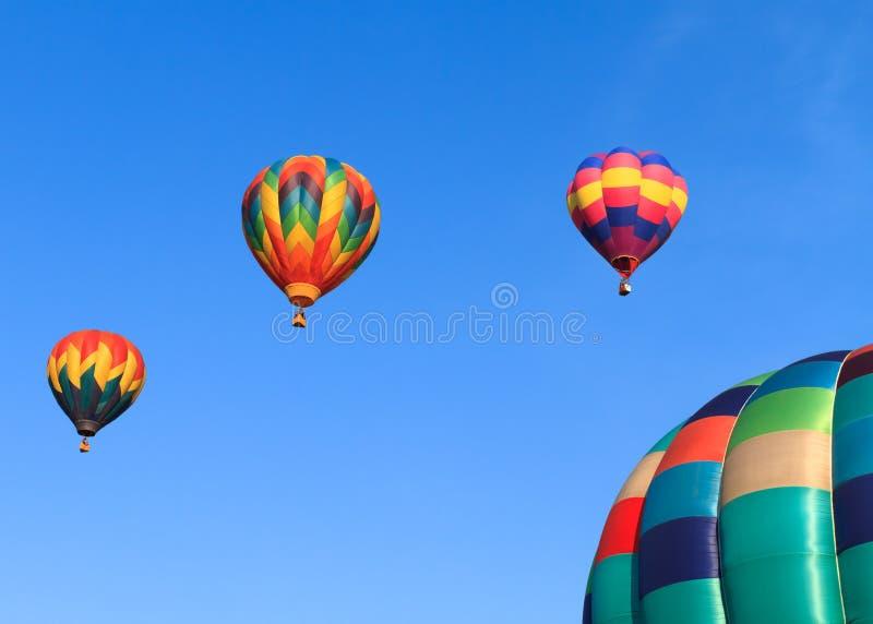 Ballons à air chauds photographie stock libre de droits