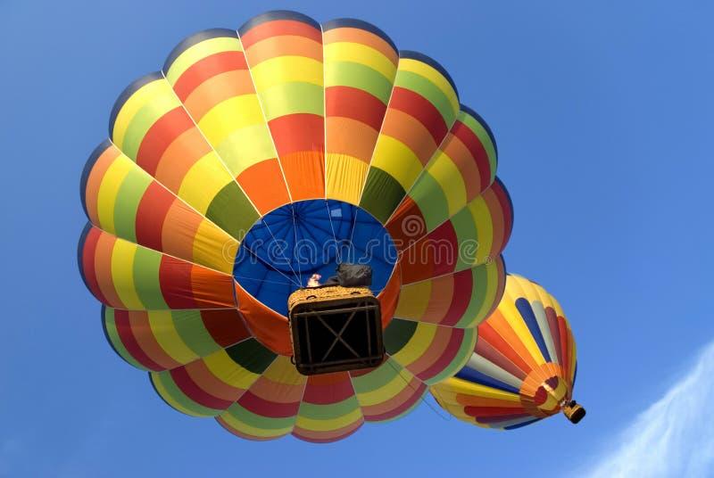 Ballons à air chauds 4 photos stock