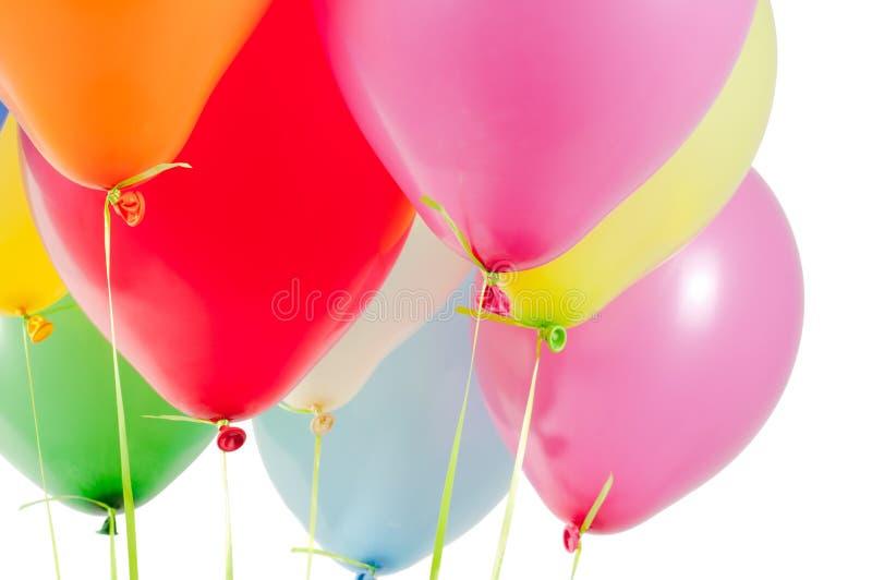 Ballons à air multicolores photo libre de droits