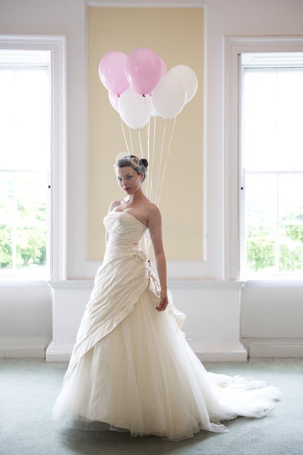 ballons νύφη στοκ εικόνες με δικαίωμα ελεύθερης χρήσης