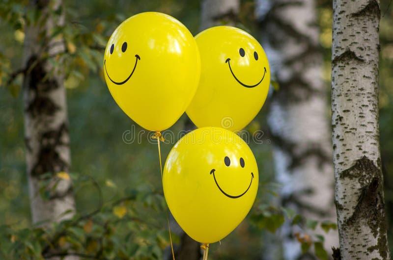 Ballons χαμόγελου στοκ εικόνα με δικαίωμα ελεύθερης χρήσης