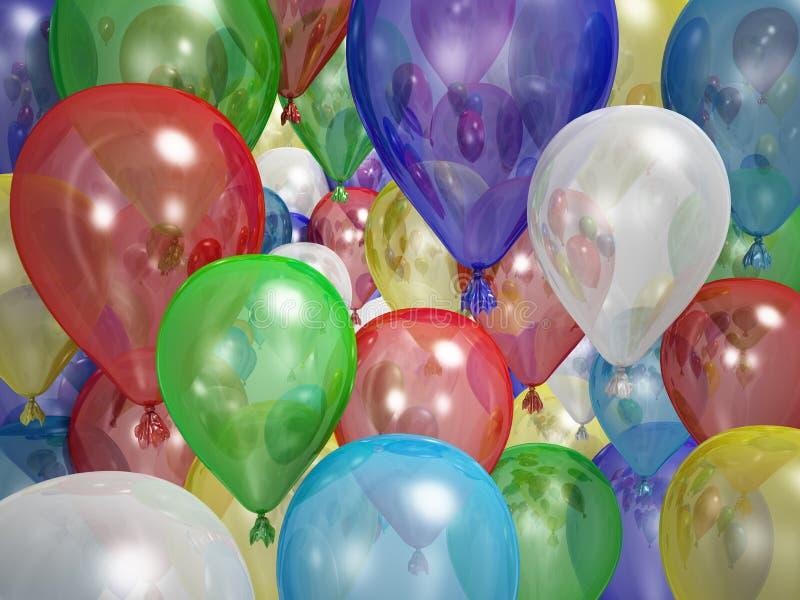 Ballons ilustração do vetor