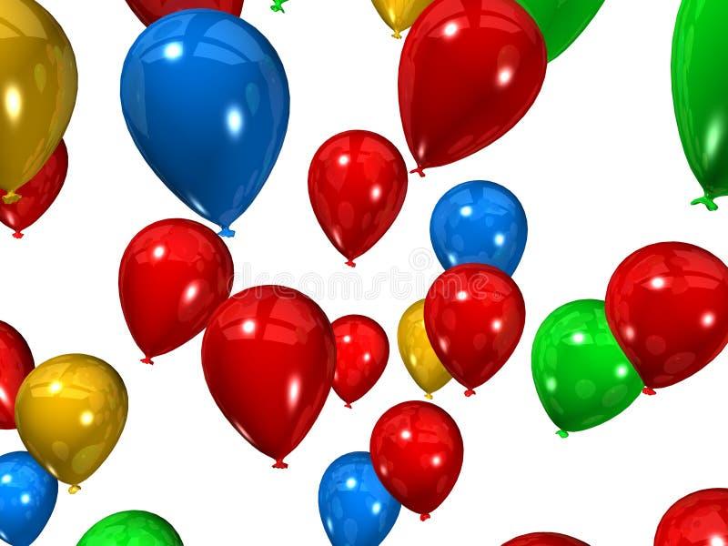 Ballons illustration stock