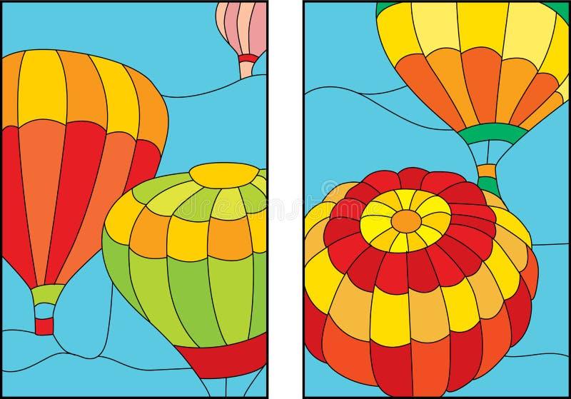 Ballons royalty-vrije illustratie