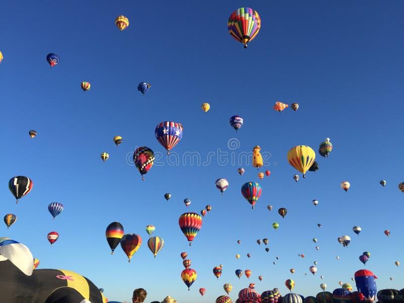 Ballons Aglore stock afbeeldingen
