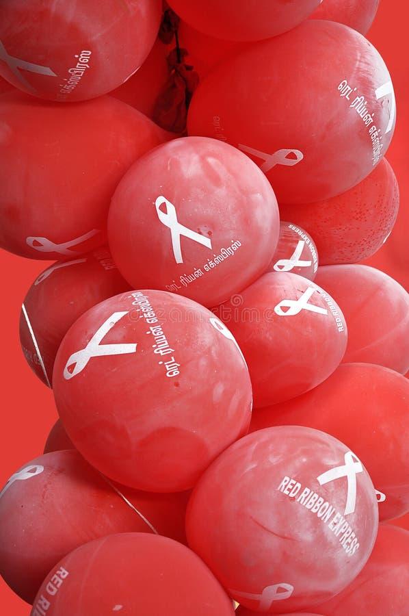 ballons awarness стоковое изображение