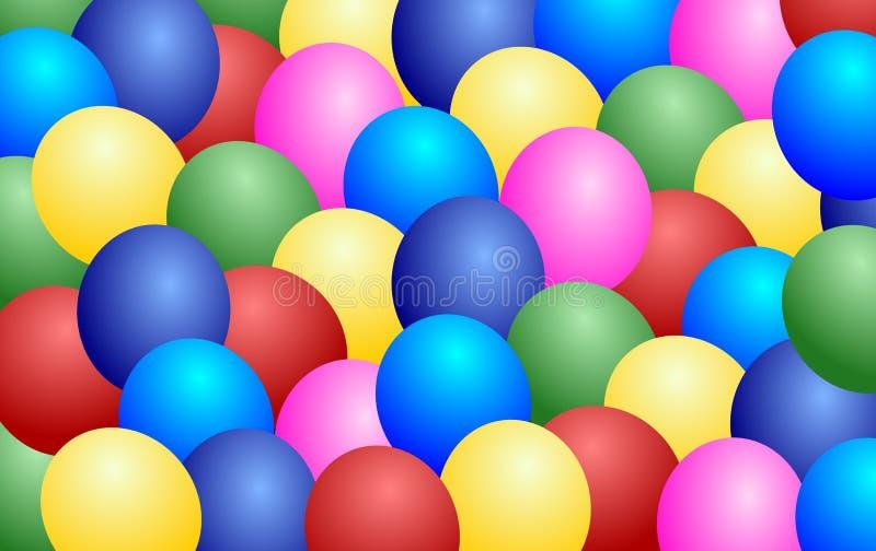 Ballons background stock photo