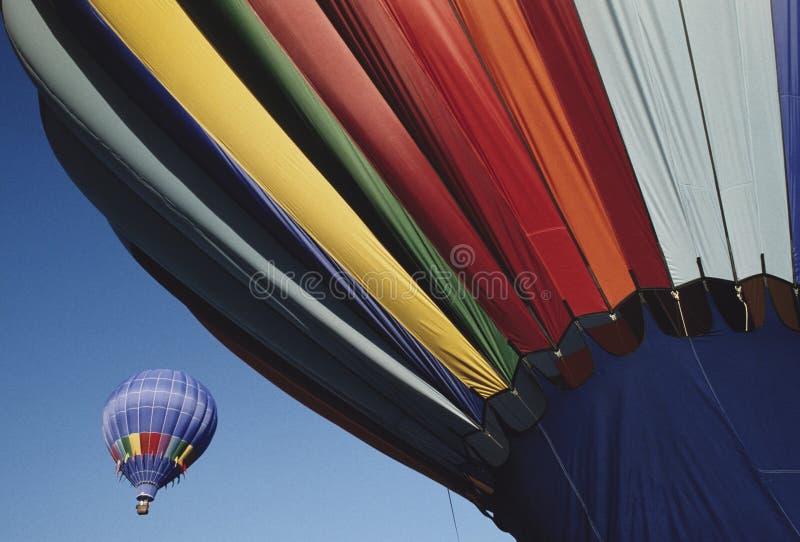 Ballons d'air chaud image stock