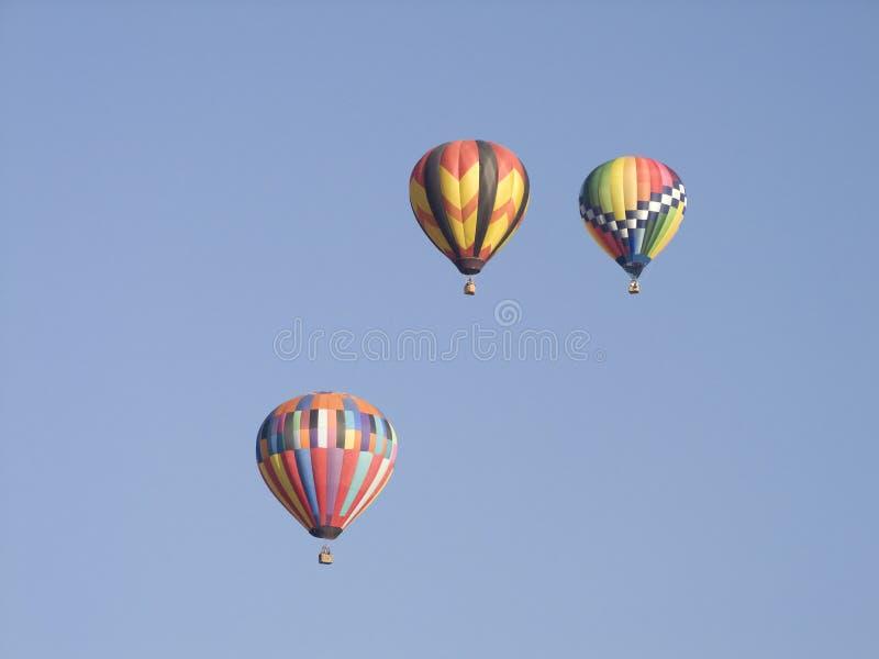 Ballons d'air chaud photographie stock libre de droits
