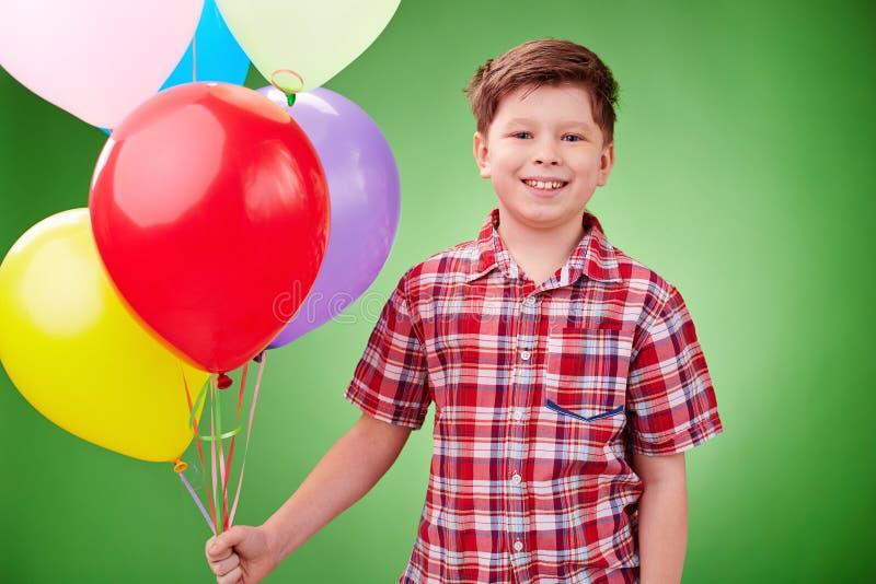 Ballons d'anniversaire photographie stock