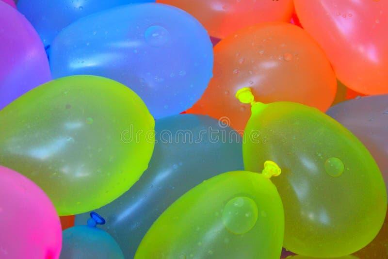 Ballons d'eau photographie stock