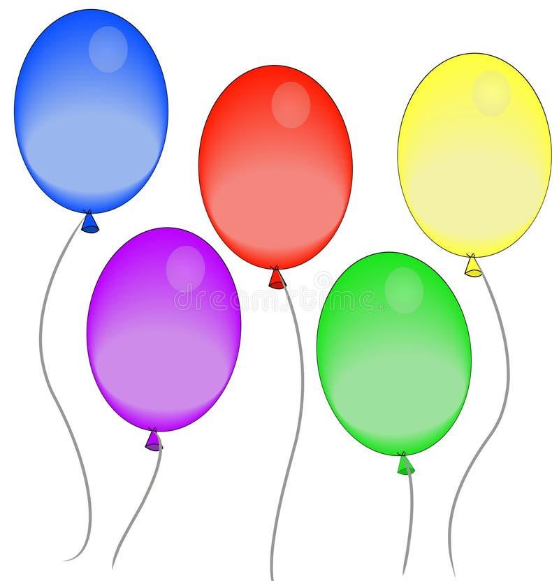 Ballons De Fête Photographie stock