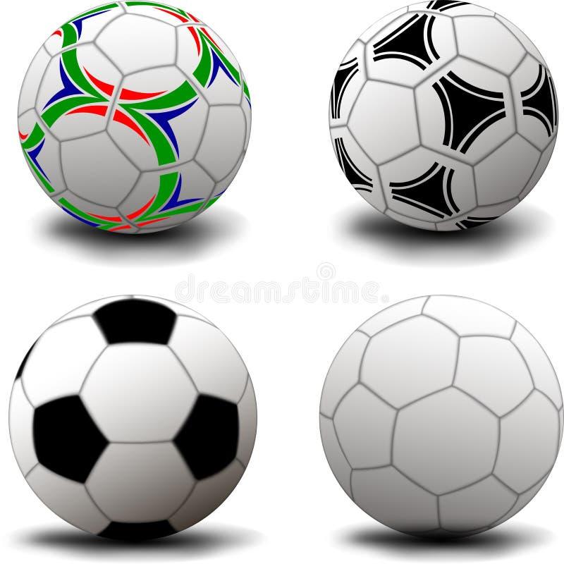 Ballons de football photos libres de droits