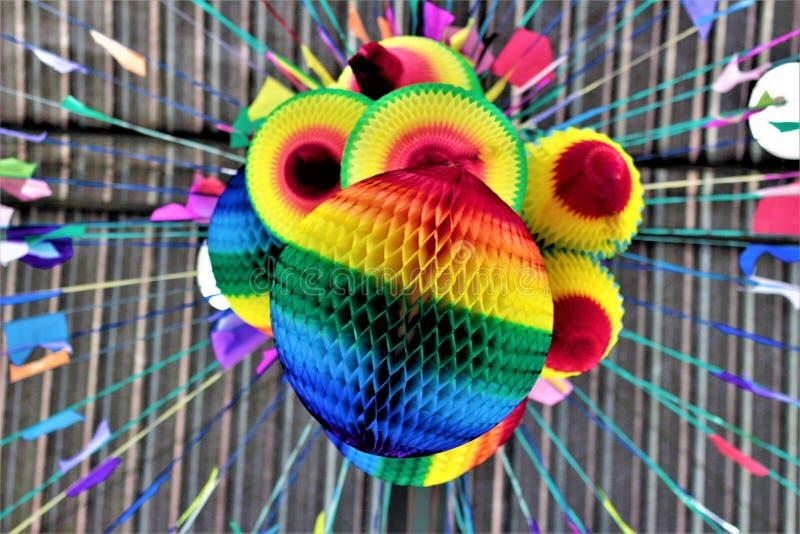Ballons de partie de Juno images stock