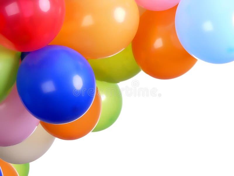 Ballons de réception photographie stock