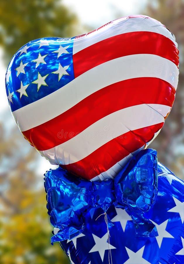 Ballons des Etats-Unis photo libre de droits
