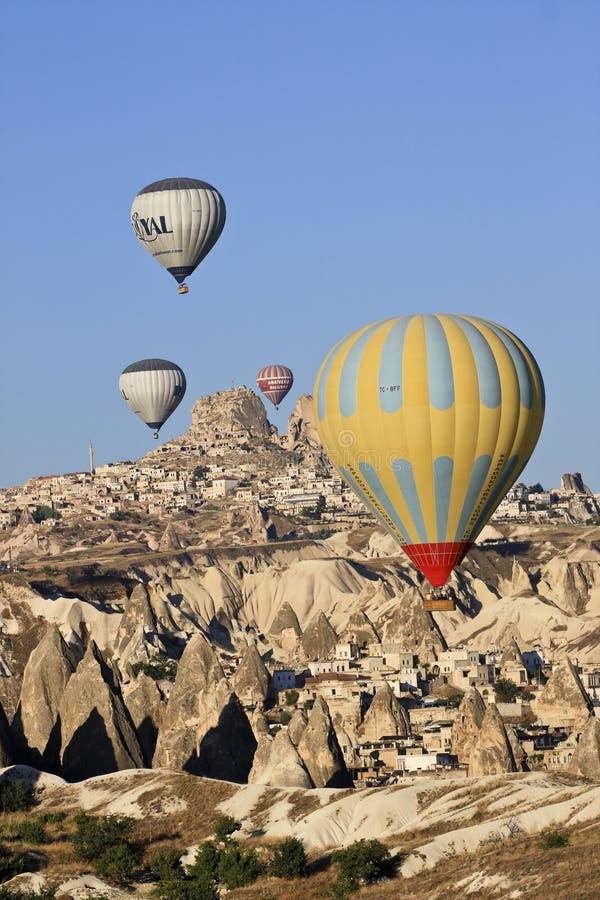 Ballons do ar quente foto de stock royalty free