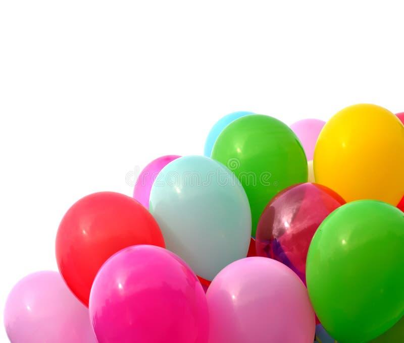 Ballons multicolores photos stock